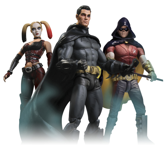 Batman Arkham City Action Figures All | www.pixshark.com ...