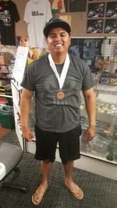 3rd Place - Justino Jimenez